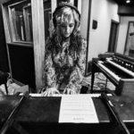 Allison recording at The Village for Burl Audio
